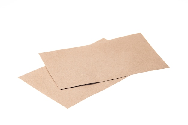 茶色の紙封筒絶縁