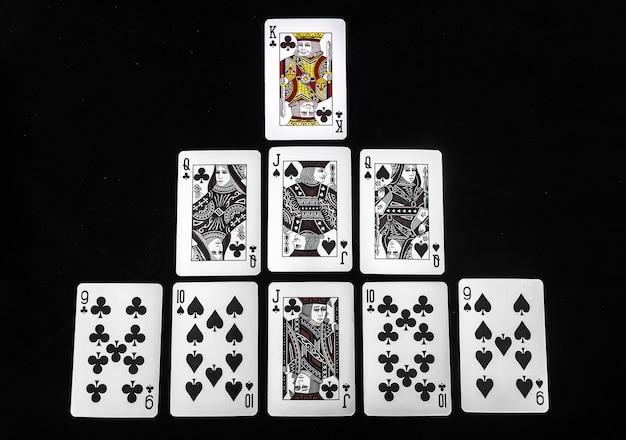 ポーカーカードのリーダー