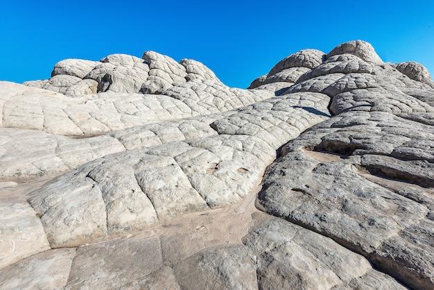 アリゾナ州のロック・デザート、ホワイト・ポケットの風景