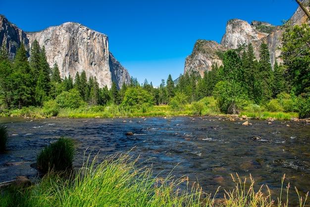 ヨセミテ国立公園の風景、風景写真。