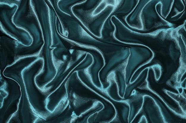 青い布とストライプテキスタイルによる背景と壁紙
