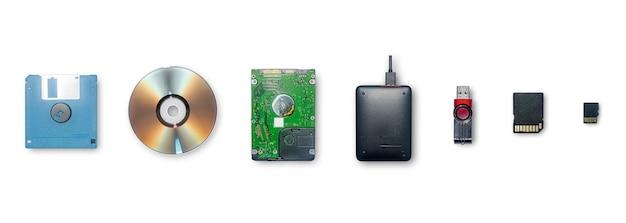 これらのデバイスは、ストレージ情報と、分離されたデータの転送またはバックアップに使用します