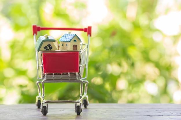 ショッピングカートの家モデル