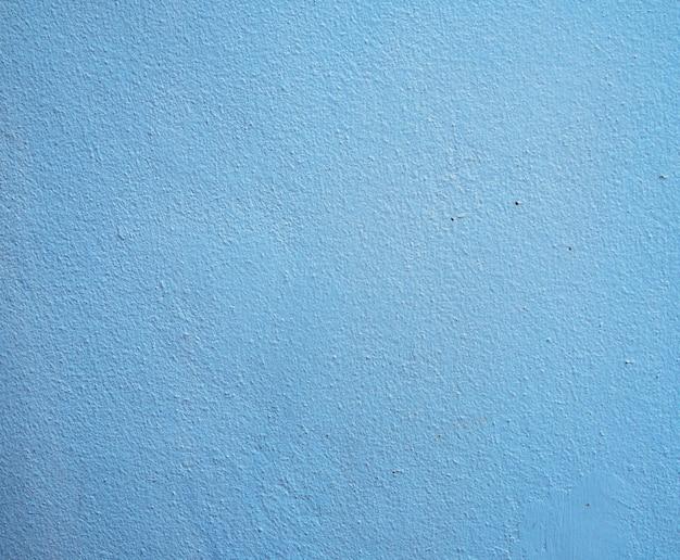 青い色のセメントの壁の背景
