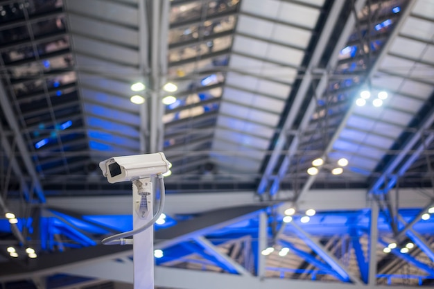 Камера безопасности в аэропорту