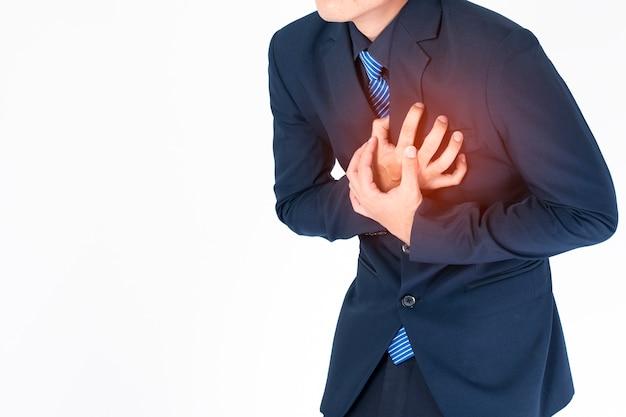 ビジネスマンの心臓発作