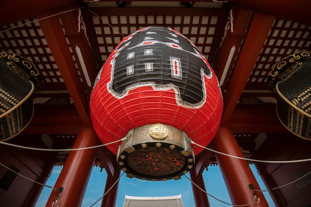 浅草寺、東京の有名な寺院、日本。