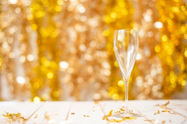 С новым годом стена, золото боке