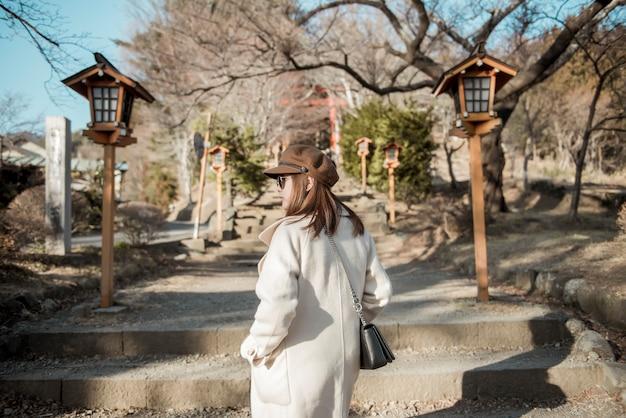 日本の美人観光客