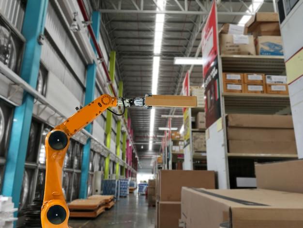 スマートなロボット産業のアーム製品のストレージ工場と倉庫