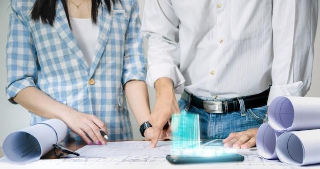 シートプラン表示技術構築モデルの設計のためのエンジニアチーム作業