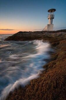 カオラックタイの灯台建物のランドマーク