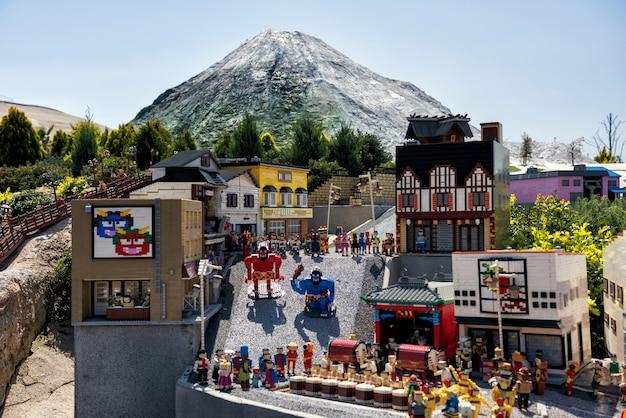 名古屋、レゴランドの登別ランドマークモデル