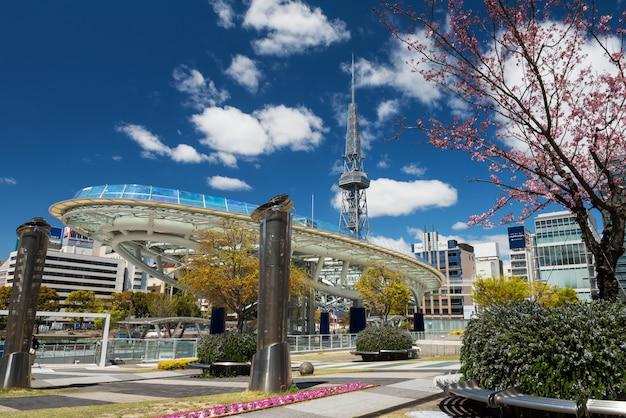 名古屋の春のオアシスとテレビ塔