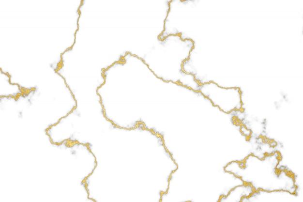 金のミネラル白い大理石のパターンと豪華な内壁と床
