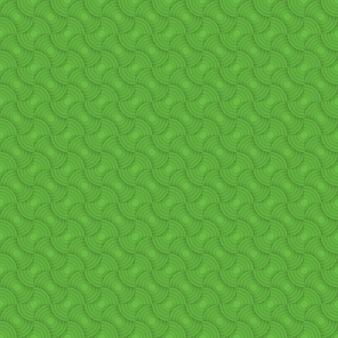 緑のシームレスパターン背景。モダンでスタイリッシュな風合い。幾何学的なタイルを繰り返します。同心円