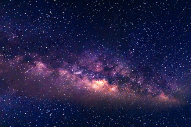 Млечный путь и звездный фон неба.