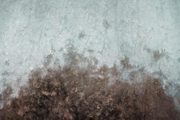 セメントコンクリートのテクスチャ。暗い汚れた背景。産業ロフト設計のための壁とフローリング
