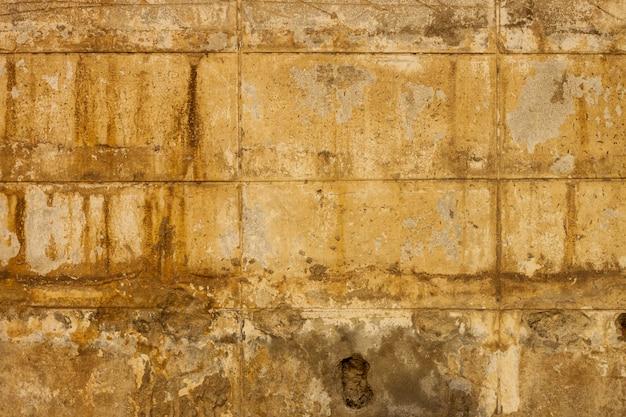 汚れたレンガブロックセメントとグランジテクスチャ