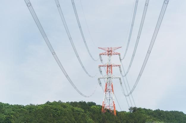 高電圧タワー