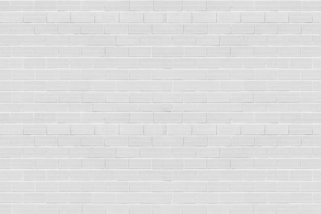 白いレンガ壁の背景テクスチャ