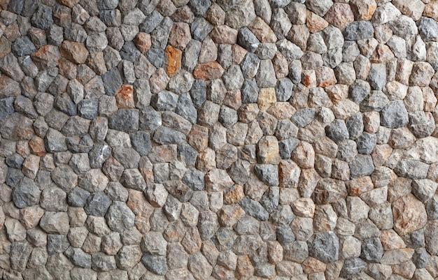 大きな石垣の模様