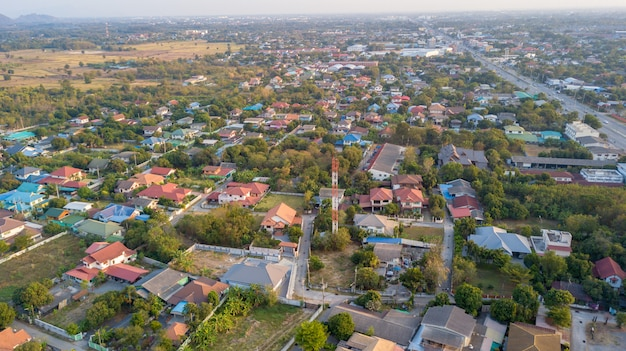 住宅や私道がある近所