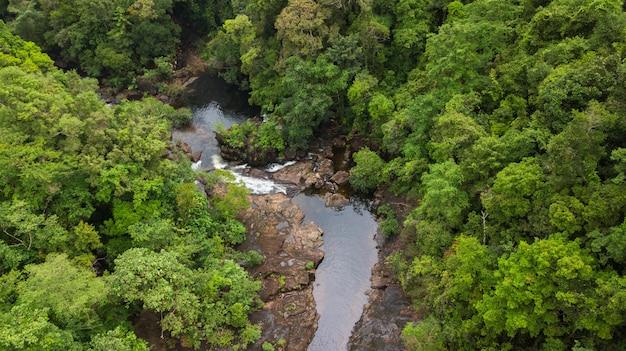 Антенна водопада клонг плу, остров ко чанг