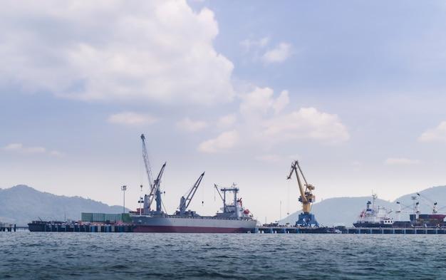 国際コンテナ貨物船の物流と輸送