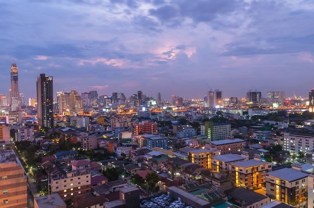 Городской пейзаж в бангкоке