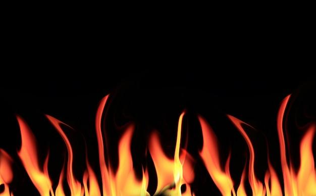 火、炎の背景