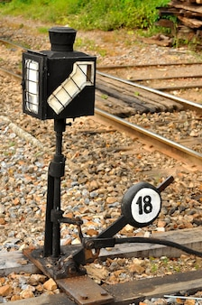 列車のサイン