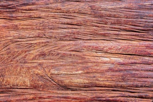チェーンソーで木を切るの背景テクスチャです。木材と家具の概念。