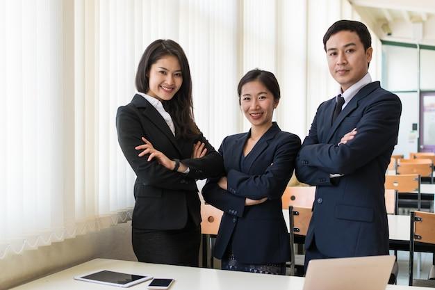 Группа бизнесмена