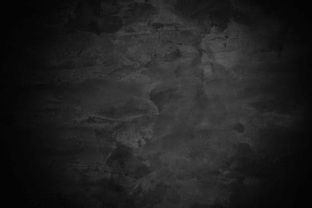 Старый гранж черный цемент стены текстуры фона