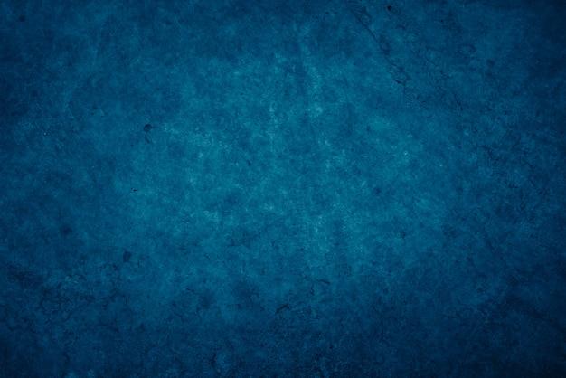 ダークブルーのセメントグランジテクスチャ背景