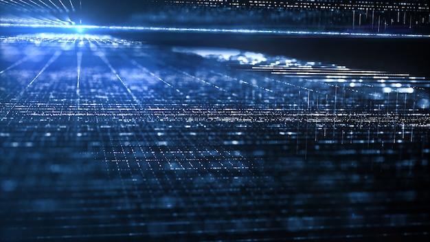 デジタルデータフローの動き