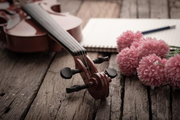 ヴァイオリンオーケストラとビンテージトーン加工