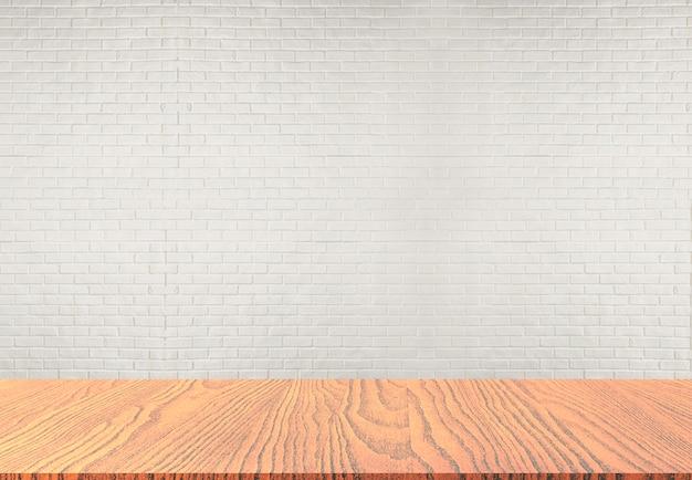 セメントの背景を持つテーブルトップ