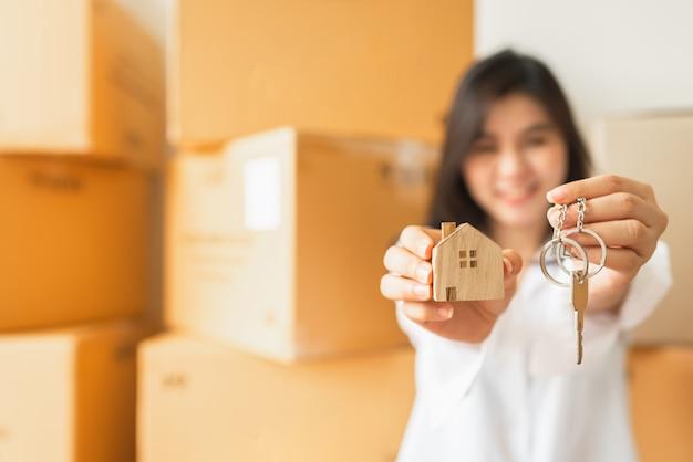 新しい家で幸せに新しい人生を始めましょう