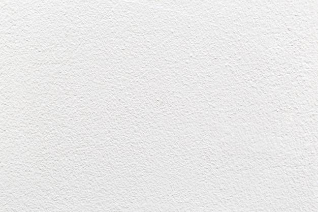Белая пустая бетонная стена для фонового изображения.