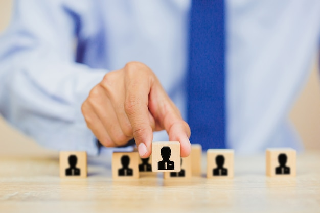 Ручной бизнес человеческих ресурсов, подбор персонала и талант