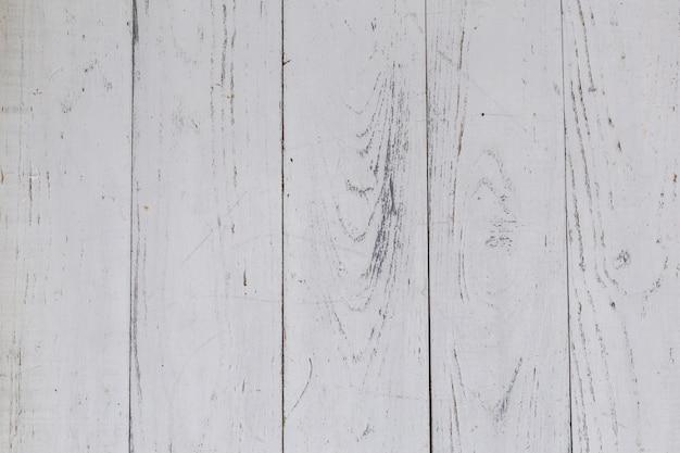白い木製テーブル表面の背景。