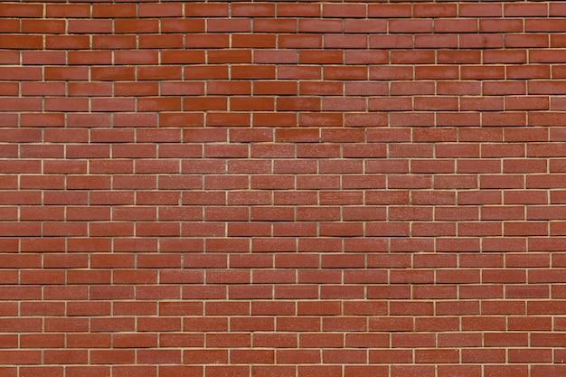 古い赤レンガの壁のテクスチャ背景