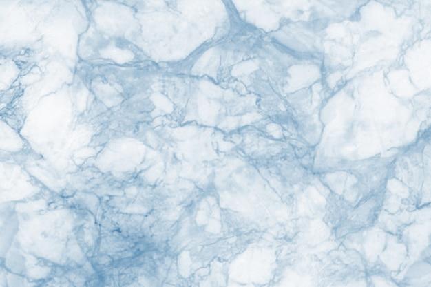 青い大理石のテクスチャと背景