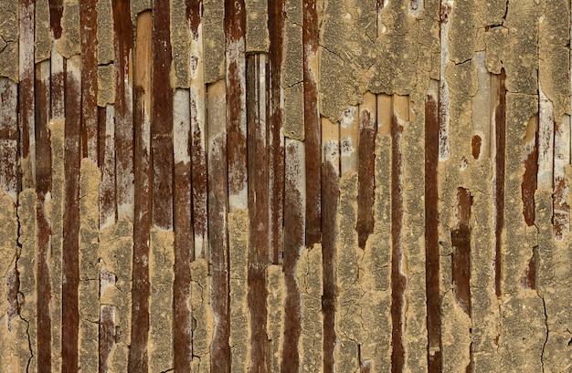 自然の模様の竹のテクスチャ
