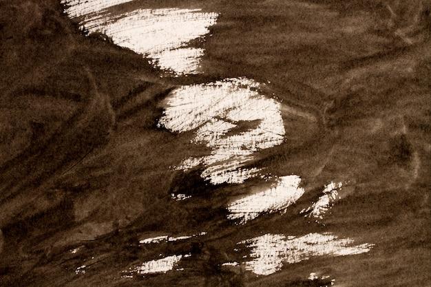 Абстрактная черно-белая акварель освещает покрашенную предпосылку или текстуру.