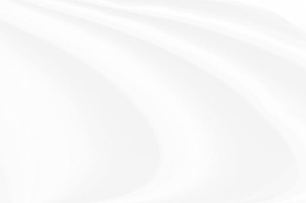 白い布のテクスチャ背景、波状の布