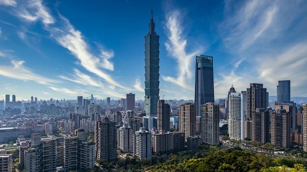 Тайвань город небоскреб и небоскреб