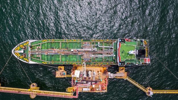 外洋のタンカー船物流および輸送事業の石油およびガス産業